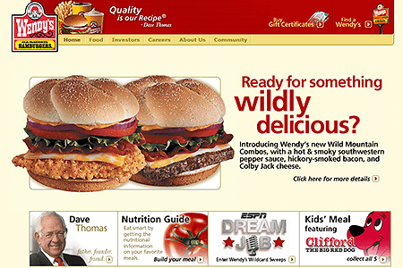 Wendy's in 2003