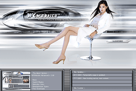 WK Website in 2003