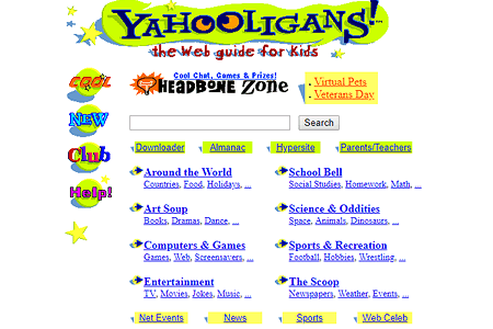 Yahooligans in 1998