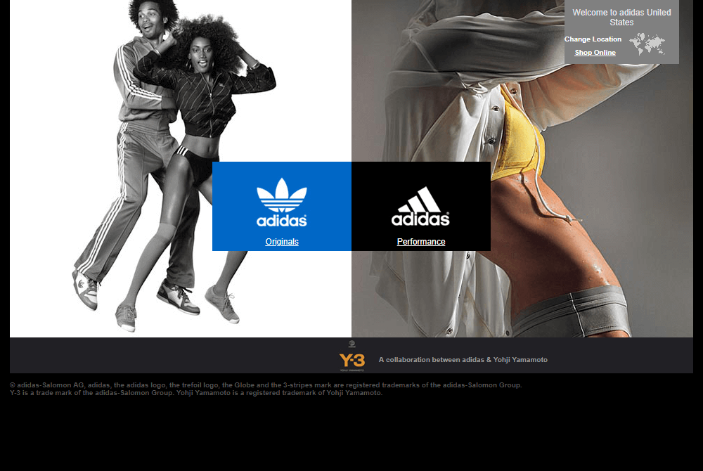 Adidas in 2005