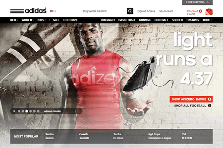 Adidas in 2012