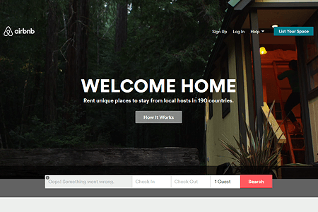 AirBnB in 2014