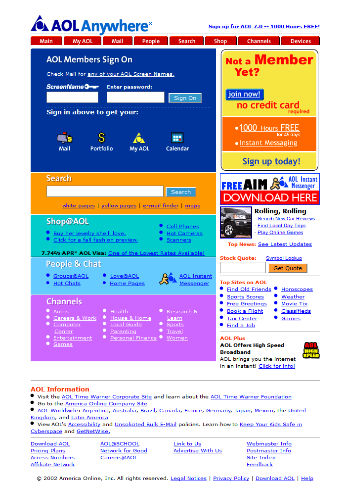 Search does not work on AOL homepage. - Microsoft Community