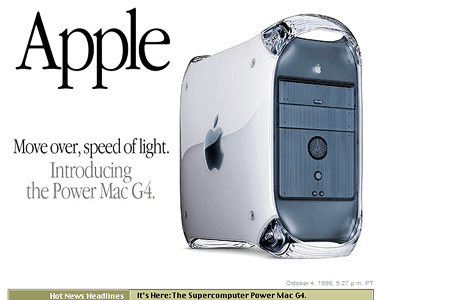 Apple in 1999
