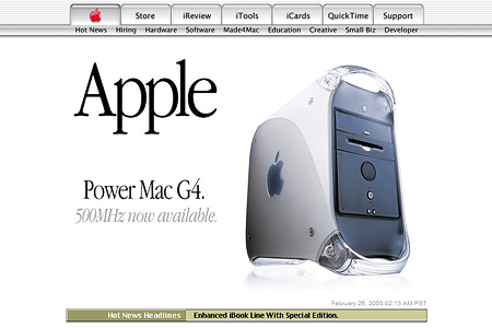 Apple in 2000