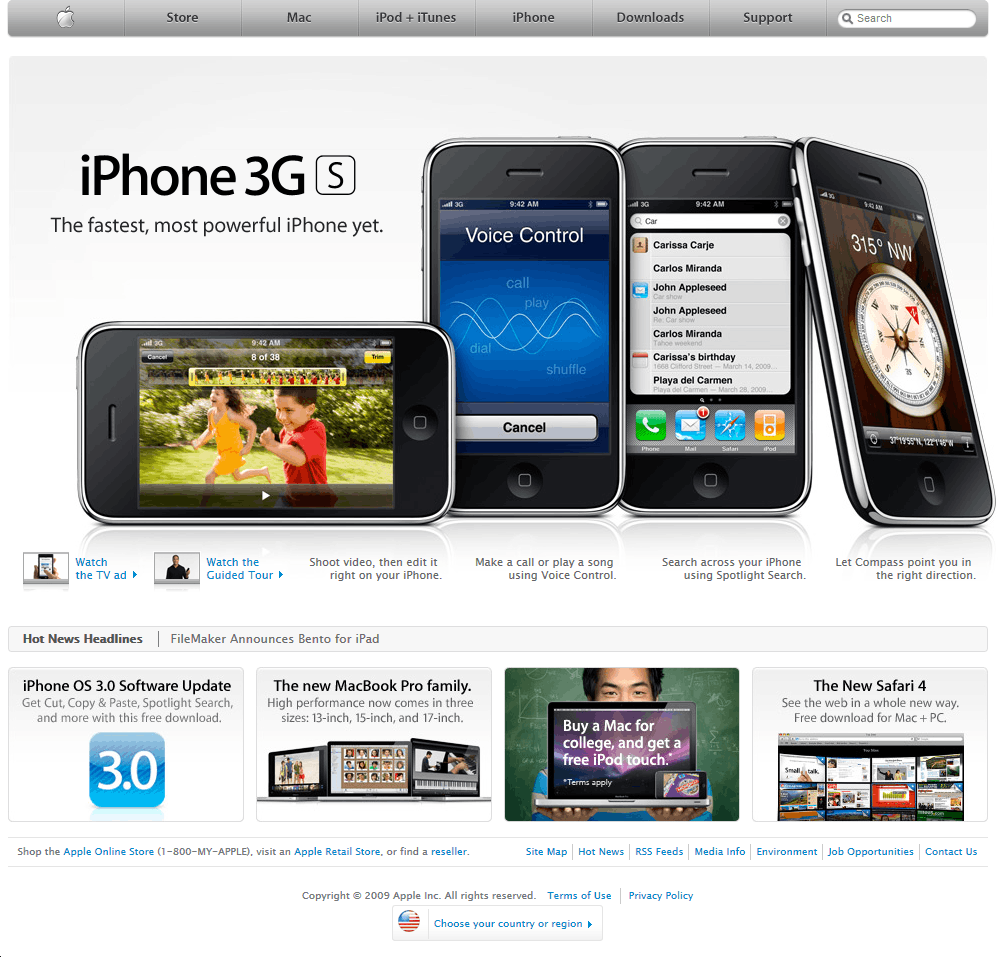 Apple in 2009