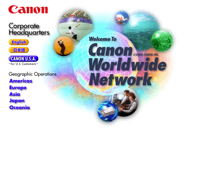 Canon in 2000