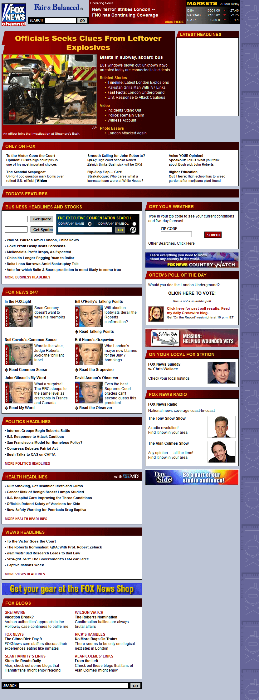 Fox News Channel in 2005