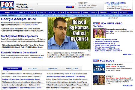 Fox News Channel in 2008
