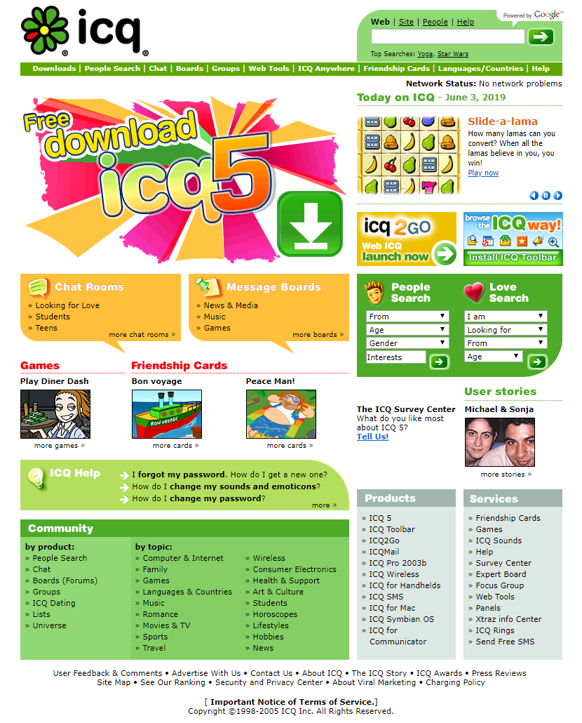 ICQ dating