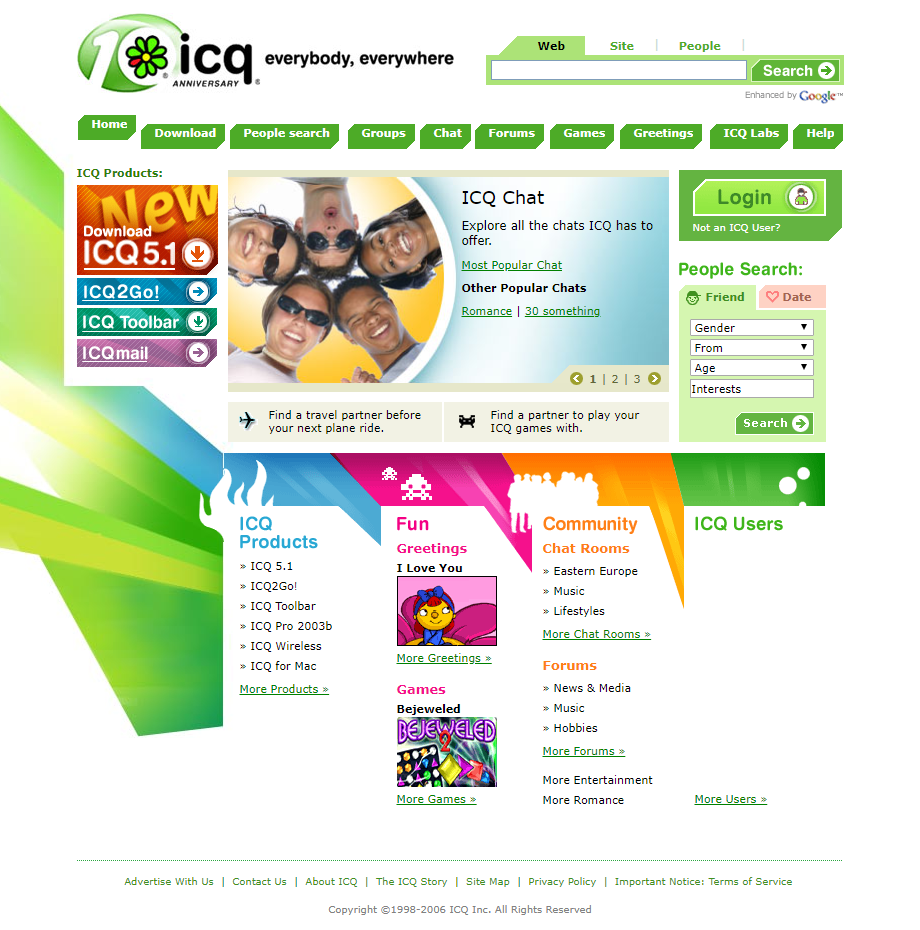 ICQ in 2006