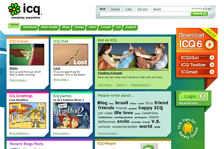 ICQ in 2008