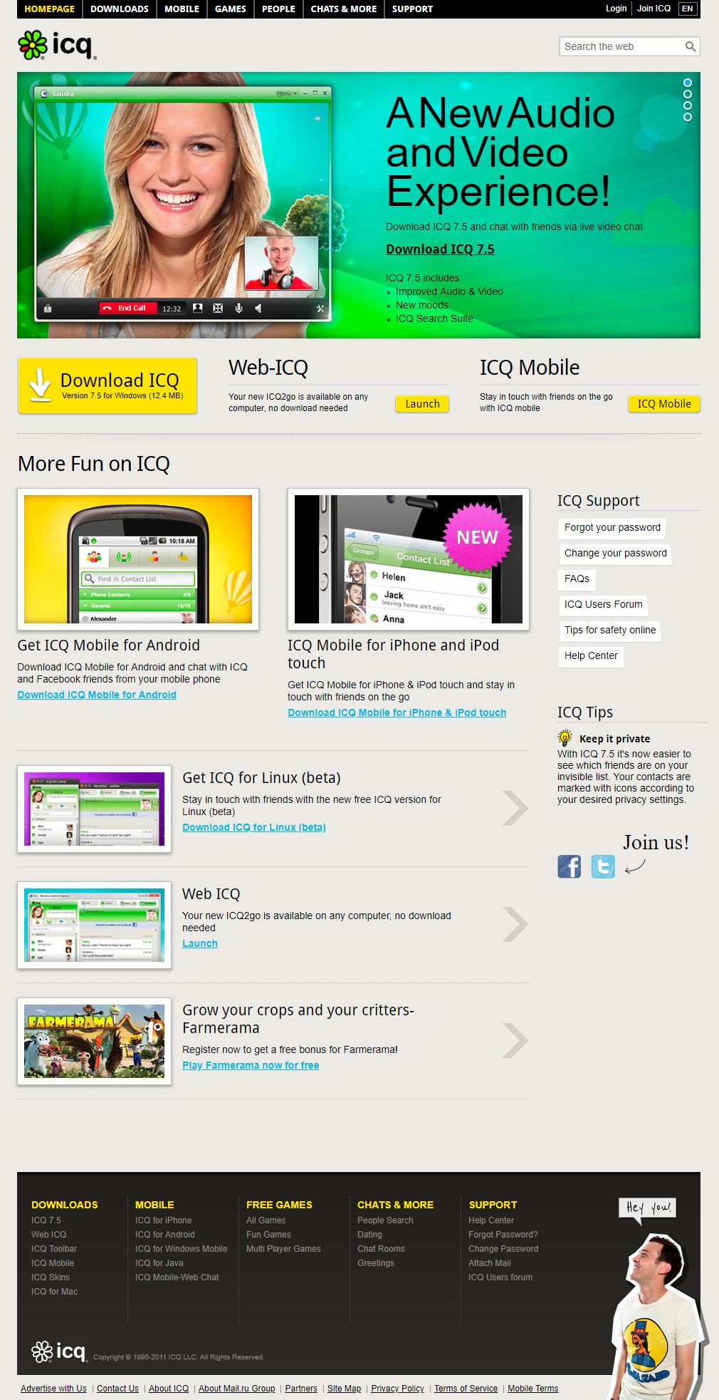 ICQ in 2011