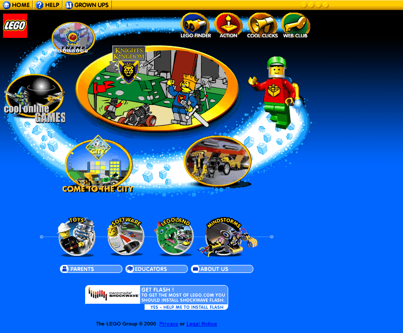Lego in 2000