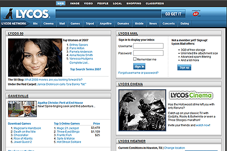 Lycos in 2007