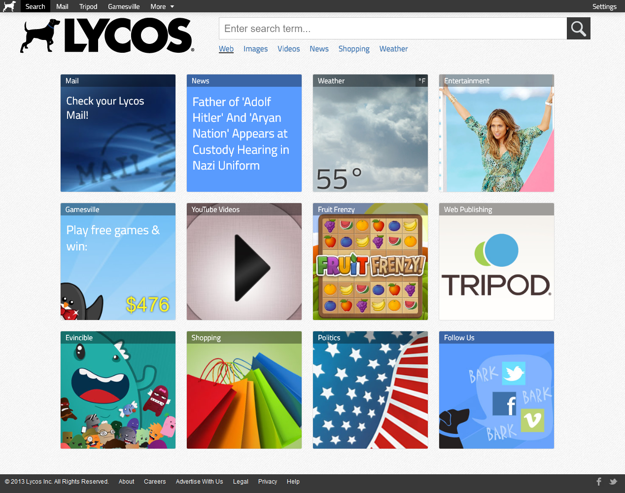 Lycos in 2013
