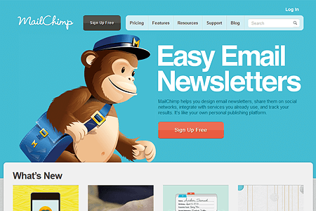 MailChimp in 2011