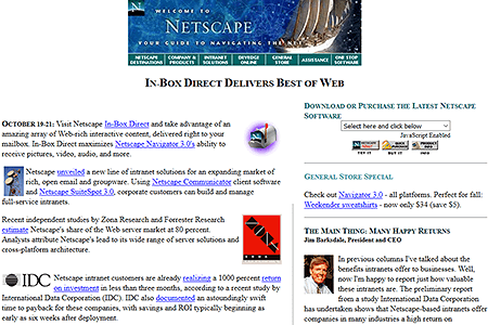 Netscape in 1996