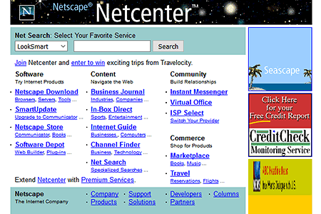 Netscape in 1998