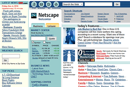 Netscape in 2000