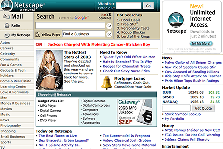 Netscape in 2003