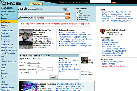 Netscape in 2005