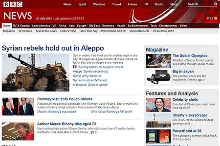 BBC News in 2012