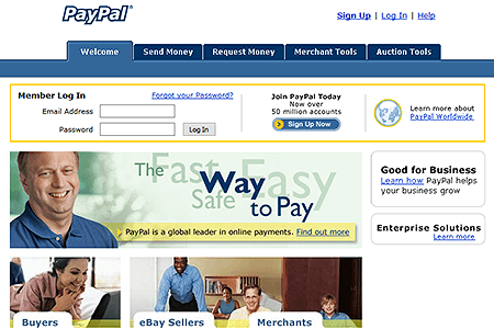 PayPal in 2004