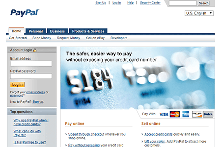 PayPal in 2008