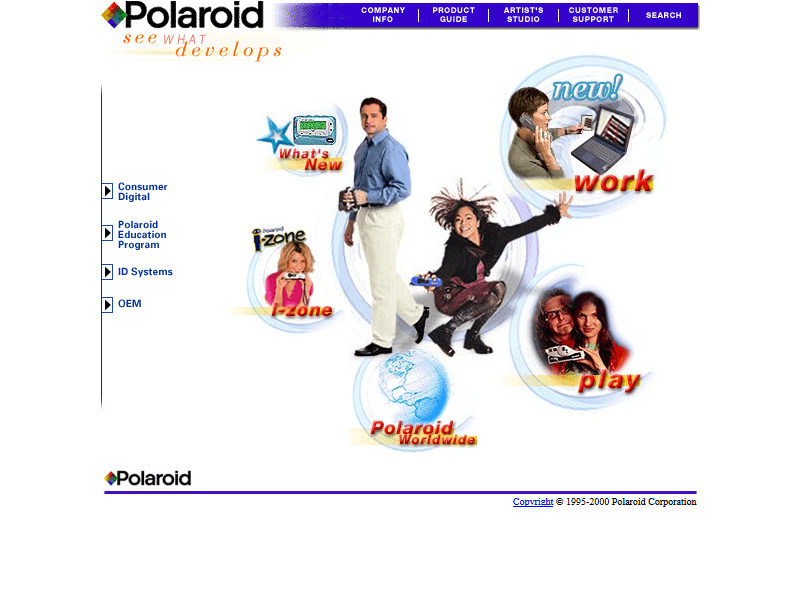 Polaroid in 2000