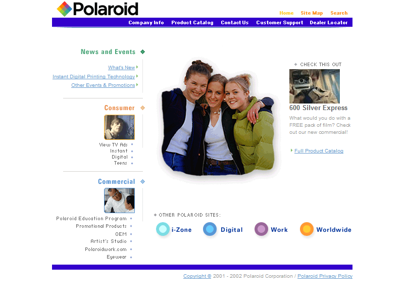 Polaroid in 2002