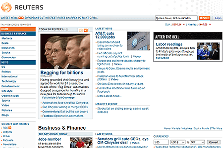 Reuters in 2008