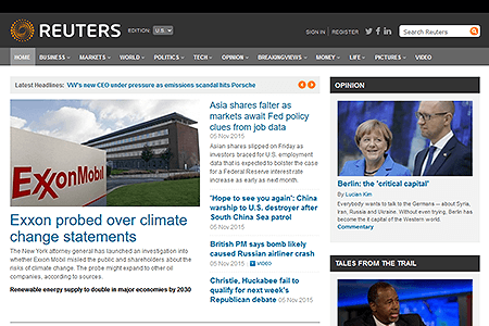 Reuters in 2015