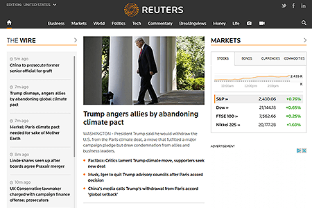 Reuters in 2017