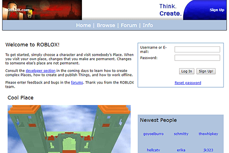 Roblox in 2006