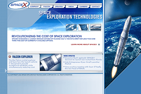 SpaceX 2002