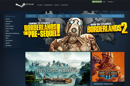 Steam in 2014