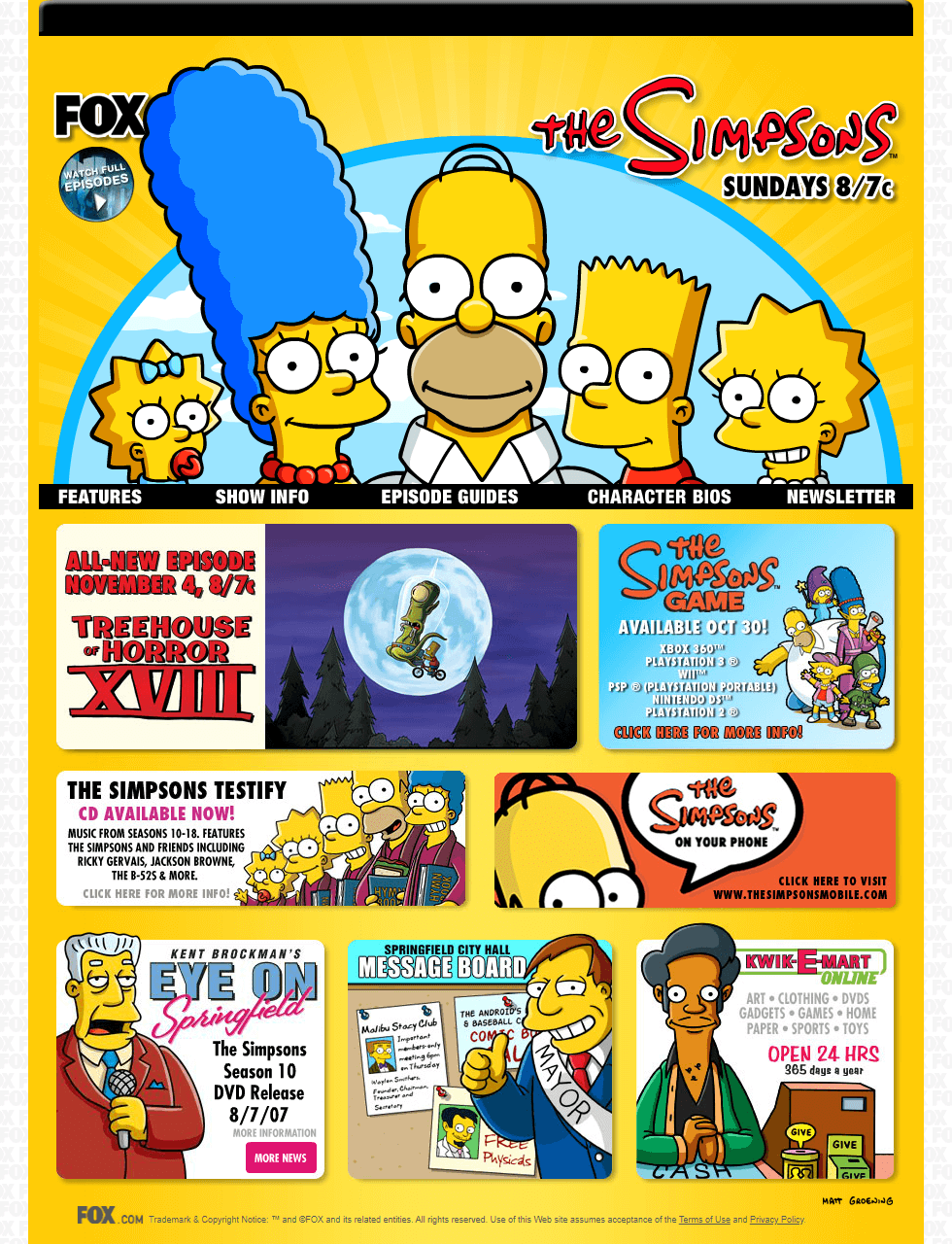 The Simpsons in 2007