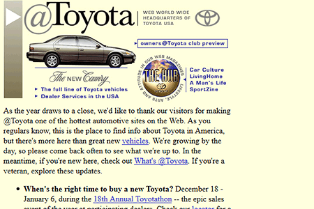 Toyota in 1996