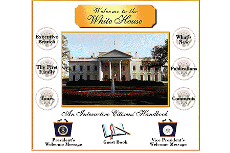 The White House in 1995
