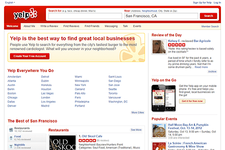 Yelp in 2012