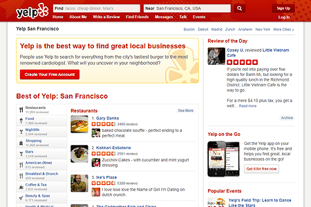 Yelp in 2013