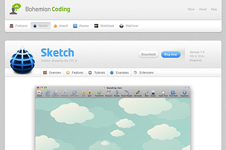 Bohemian Coding and Sketch 1.0