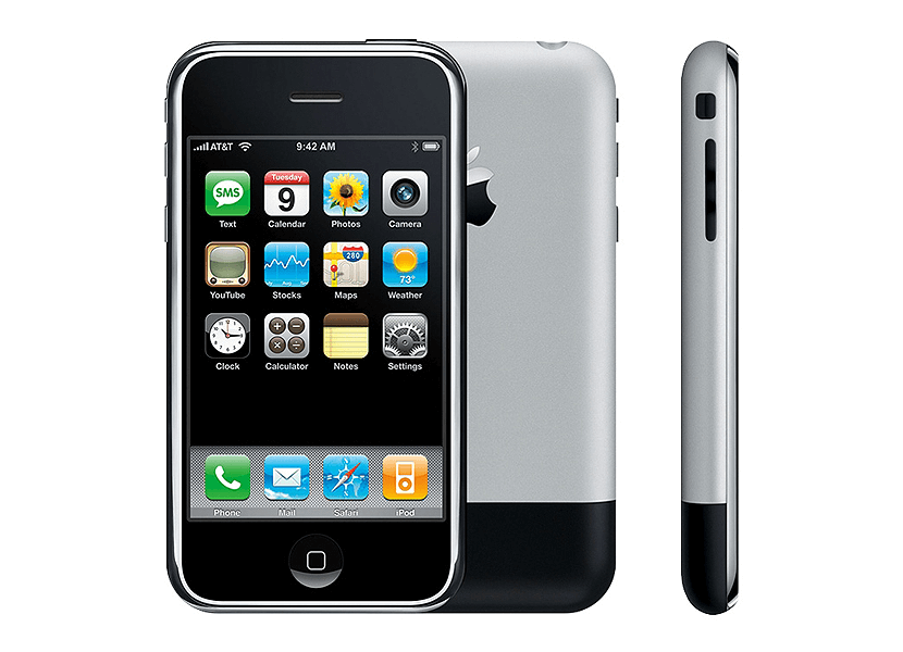 The first iPhone 2007