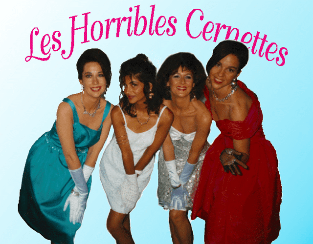 Les Horrible Cernettes - one of the first images uploaded to the web