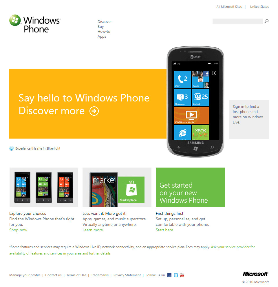 Flat design and Windows Phone 7