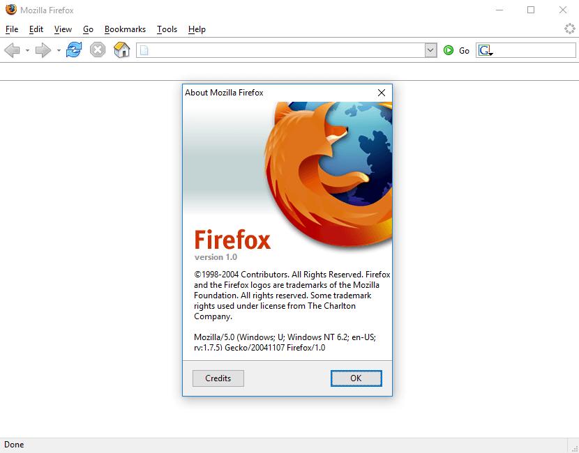 Mozilla Firefox 1 0 - 2004 | Web Design Museum