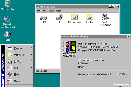 Windows NT 4.0 Option Pack